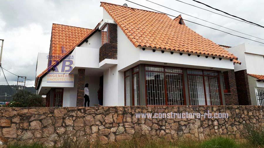 Proyecto Remodelación Casa con teja en barro en Sogamoso Boyacá